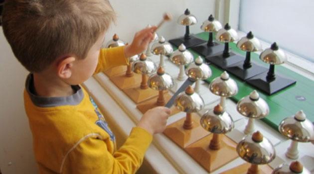 the sensorial area Montessori sensorial materials are materials used in the montessori classroom to help a child develop and refine his or her five senses.